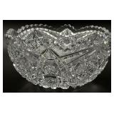 Cut Crystal/Glass Bowl