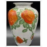 Hand Painted Lusterware Style Vase