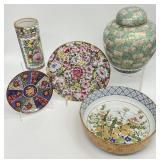 4pc Asst. Asian Porcelain