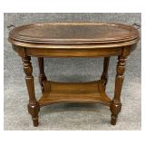 Walnut Lift Top Butlers Table