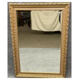 Ornate Framed Gold Mirror