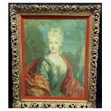Largillere Replica French Lady Portrait