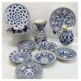 11PC Pottery Made in Spain