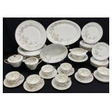 38PC Vintage Bavaria Dogwood Porcelain China