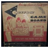 Vintage Carrom Game Table