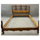 Kindel Cherry Full Size French Bed