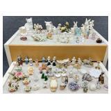 Lg Group Asst. Figurines, Art Glass & Decor Items