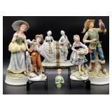 7PC Napcoware & Japanese Figurines