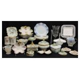 Asst. Antique / Vtg Porcelain & Glass Grouping