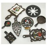 Antique Cast Iron Grouping