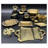 Asst Vintage Brass Grouping
