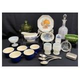 Blue & White, Milk Glass, Antique & Vtg Items