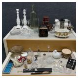 Group of Misc Home Decor Items