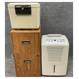 Filing Cabinet, Safe, Dehumidifier