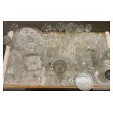Large Group Assorted Glass