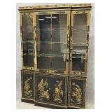 Drexel Chinoiserie Breakfront China Cabinet