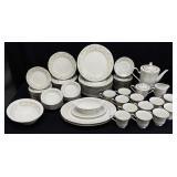 79pc Noritake Blossom Time Porcelain China Set