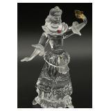 Swarovski Crystal Masquerade Columbine Figurine