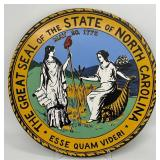 State of North Carolina Metal Seal