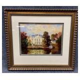 River Chateau S/N Giclee Art Print - Hayslette