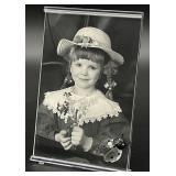 Swarovski Crystal Picture Frame w/ Ladybug