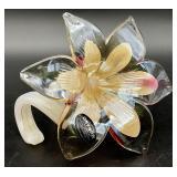 Murano Italian Art Glass Flower