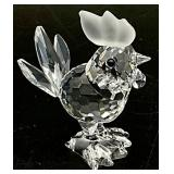 Swarovski Crystal Miniature Rooster Figurine