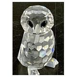 Swarovski Crystal Miniature Owlet Figurine