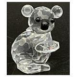 Swarovski Crystal Miniature Koala Figurine