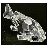 Swarovski Crystal Miniature Goldfish Figurine