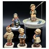 5pc Goebel Hummel Figurines