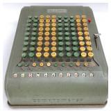 Antique Felt Tarrant Comptometer