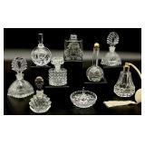 Vintage Glass / Crystal Perfume Bottles