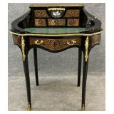 Antique French Leather Top Writing Desk