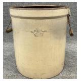Antique 5 Gallon Crock with Handles