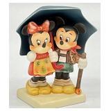 Goebel Minnie & Mickey Stormy Weather