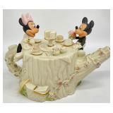 Disney Lenox Mickey & Minnie Teapot