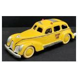 Vintage Cast Iron Yellow Cab