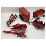Red ERTL and Nylint Accessories