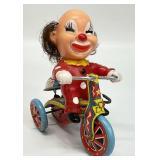 Vintage Trademark Suzuki Clown Tin Toy