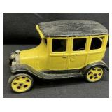 Cast Iron Delivery Truck Toy Car