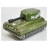 Vintage Waco Tin Army Tank