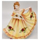 Royal Doulton Charlotte Porcelain Figurine