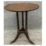 Brandt Mahogany Acanthus Carved Table