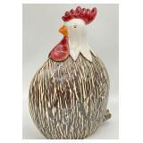 Ceramic Chicken Statue