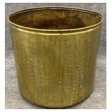 20in Brass Planter