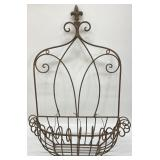 Wrought Iron Wall Hanging Planter
