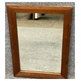 Antique Walnut Mirror
