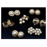 7pc Clip On Earrings Grouping