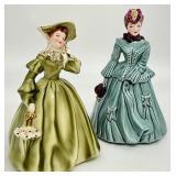 Florence Ceramics Gayle & Sarah Figurines